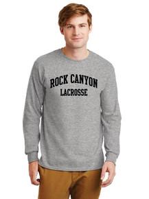 Unisex Gildan Long Sleeve Cotton T-Shirt - Rock Canyon Girls Lacrosse