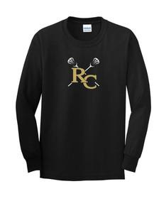 Unisex Gildan Long Sleeve Cotton T-Shirt - RC Girls Lacrosse