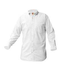 Boys White Long Sleeve Oxford Shirt - St. Thomas More Preschool