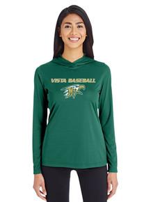 Ladies Zone Performance Hoodie - Vista Baseball