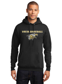 Unisex Fleece Hoodie - Vista Baseball
