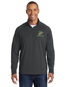 Male Long Sleeve 1/4 Zip Smooth Pullover - Vista Baseball