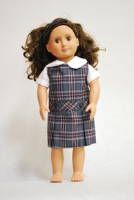 Doll Dress - Plaid 6T