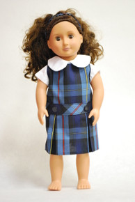 Doll Dress - Plaid 9A