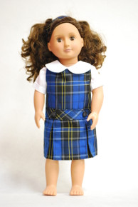 Doll Dress - Plaid 92