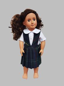 Plaid 83 Doll Dress