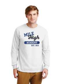 Adult & Youth Unisex  Long Sleeve Ultra Cotton T-Shirt - MHA