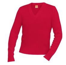 Unisex V -Neck Long Sleeve Pullover Sweater - MPB