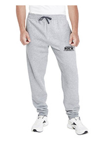 Camp Sport Gray Jerzees Jogger Pants - Rock Canyon Football
