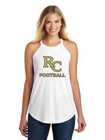 Ladies District Made Rocker Tank - RC Football