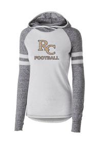 Ladies Advocate Hoodie with rhinestone bling - RC Football