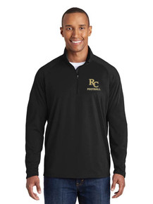 Men's 1/4 Zip Smooth Pullover - RC Football