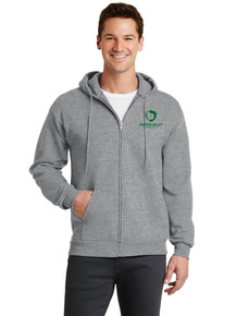Adult Full Zip Hooded Sweatshirt - Frontier Valley