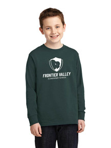 Adult & Youth Long Sleeve Cotton Core Tee - Frontier Valley
