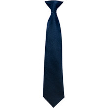 Boys & Girls Navy Tie - Adjustable neck clasp