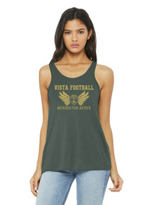 Bella + Canvas Ladies' Flowy Racerback Tank - MV Football