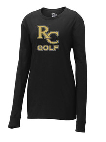 Women's Limited Edition Nike  Core Cotton Long Sleeve Tee - RC Golf