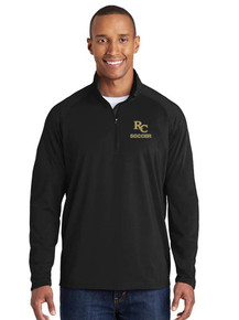 Embroidered Men's 1/4 Zip Smooth Pullover - RC Soccer Embroidered