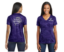 Sport-Tek® Ladies CamoHex V-Neck Tee - North Arvada Middle School