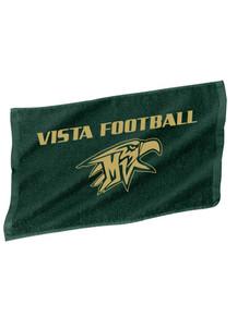 Dark Green Mountain Vista Rally Towel  - Football
