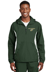 Men's Green Anorak Wind Breaker - Vista Football