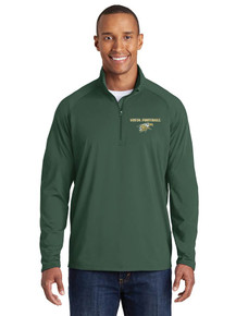 Men's 1/4 Zip Smooth Pullover - Vista Football