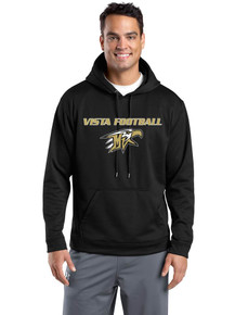 Hooded Sport-Tek Wicking Sweatshirt - Mountain Vista Football
