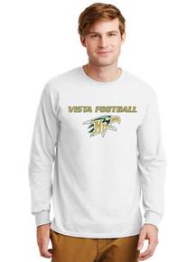 Long Sleeve Ultra Cotton T-Shirt - Vista Football