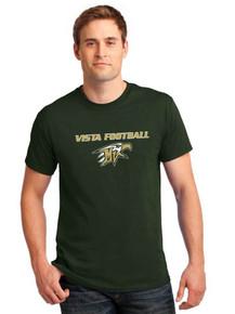 Cotton Short Sleeve T-Shirt - Vista Football