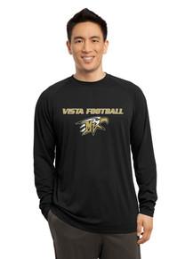 Dri-Fit Cotton Long Sleeve  T-Shirt - Vista Football