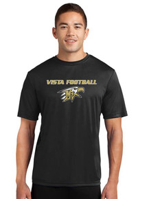 Moisture-Wick Short Sleeve Sport-Tek Competitor Tee - Vista Football