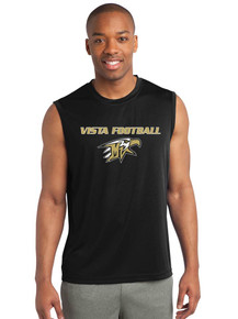 Men's Sleeveless Sport-Tek Performance Tank - Vista Football