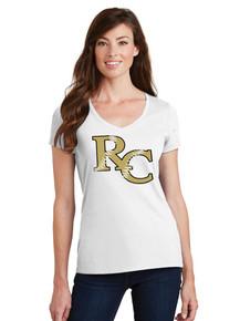 Ladies Fan Favorite V-Neck Tee - RC Softball