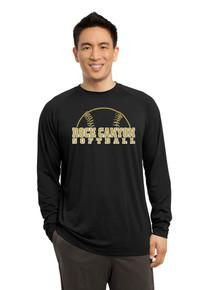 Dri-Fit Cotton Long Sleeve  T-Shirt - RC Softball
