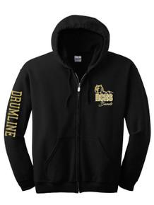 Full Zip Hooded Sweatshirt - RC Marching Band