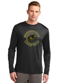 Moisture-Wick Unisex Long Sleeve Competitor Tee - Vista Unified
