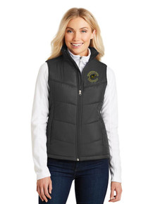 Ladies Port Authority Puffy Vest - w/Vista Unified Embroidery