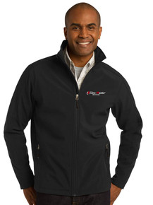 Soft Shell Jacket Men's Black Port Authority® - EnviroMaster