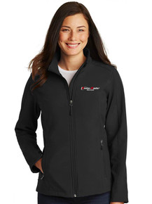 Women's Black Port Authority® Core Soft Shell Jacket - EnviroMaster
