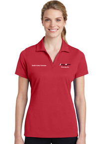 Red Sport-Tek® Ladies PosiCharge® RacerMesh® Polo - EnviroMaster