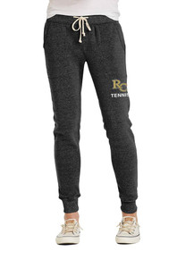 Black Women's Alternative Eco-Jogger Pants with RC Tennis embroidery