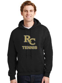 Youth & Adult Black Hoodie - RC Tennis