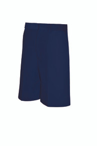 Discontinued Boys Shorts - Flat Front - Navy