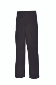 Boys Pants - Pleated Front -Black