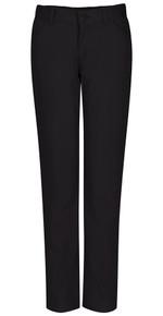 Adjustable Girls Matchstick Stretch Pant - Black