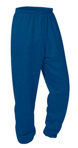 Fleece Navy Pull-On Sweat Pants
