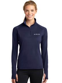 Ladies Long Sleeve Smooth 1/4 Zip - Mullen