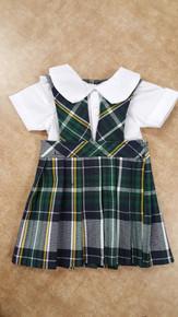 Doll Dress - Plaid 1B