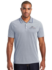 Men's Oxford Pique Polo - Three Creeks