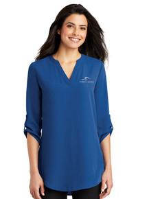 Ladies 3/4 Sleeve Tunic Blouse